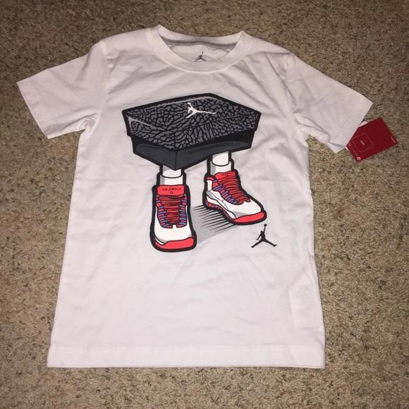 8d208825f7ee Boys Jordan 10 T-shirt